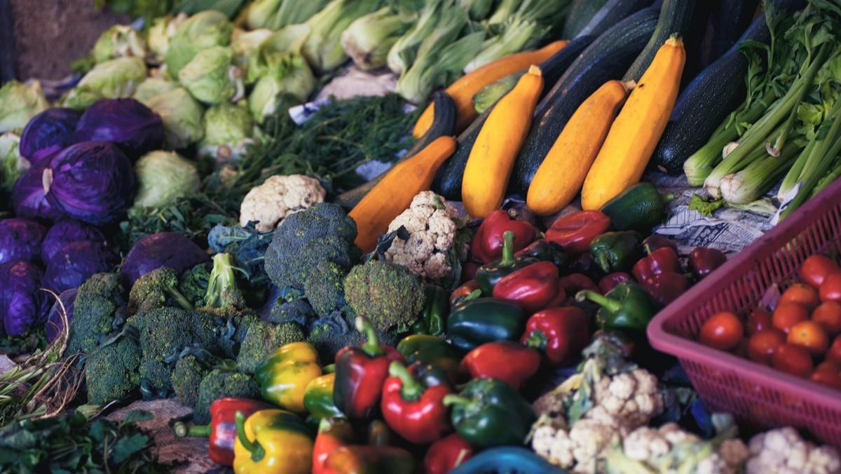 Spousta lahodné zeleniny, kterou obsahuje MIND dieta.